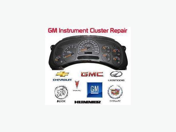 Instrument Cluster Speedometer Odometer Repair