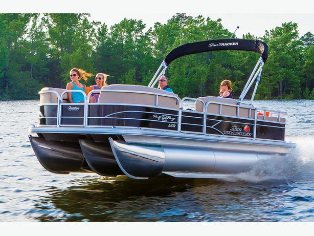 NEW 2016 Sun Tracker Party Barge 22 XP3