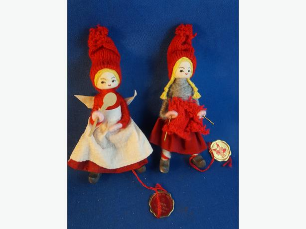 4u2c  ORIGINAL ANNE BEATE DENMARK HAND MADE XMAS FIGURES