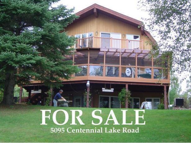 Beautiful Waterfront Home on Centennial Lake