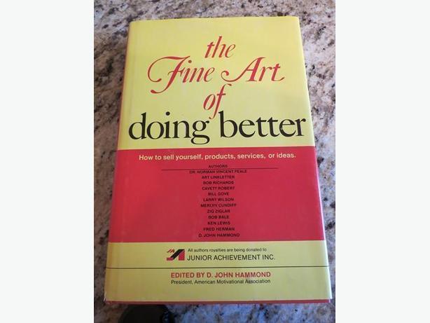 The Fine Art of Doing Better by Various, D. John Hammond (editor)