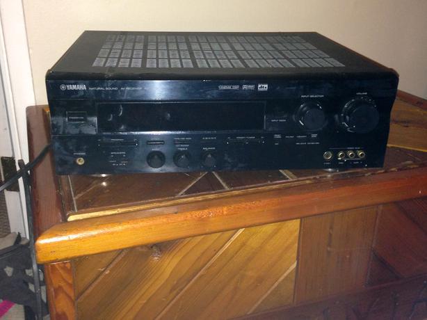 Yamaha rx v596 a v vintage stereo amplifier receiver hifi for Yamaha amplifier receiver