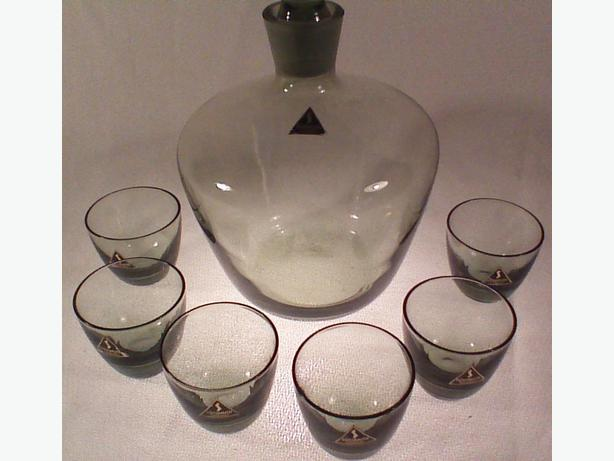 Richard Sussmuth decanter set