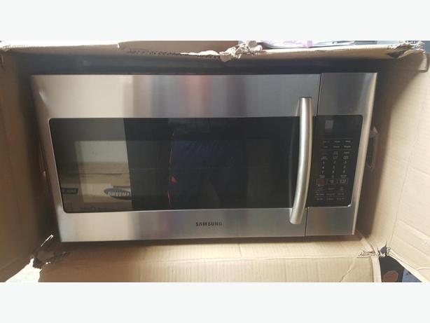 Otr Microwave Hood Fan Combo Samsung West Shore