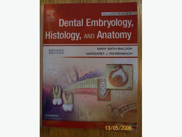 Dental Embryology, Histology, and Anatomy