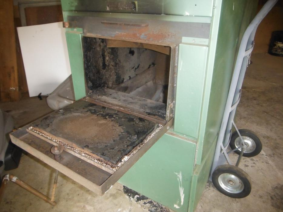 Wood Burning Furnace With Hot Water Tank Qualicum Nanaimo