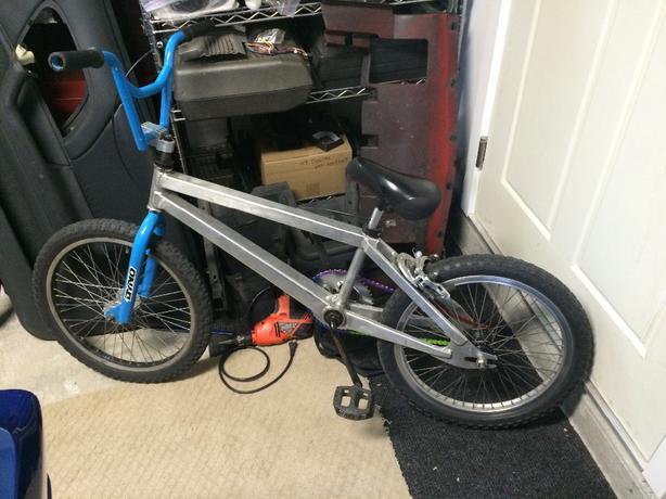 Hawk Aluminum Vintage Bmx Rare Complete Bike New Chain Etc Central