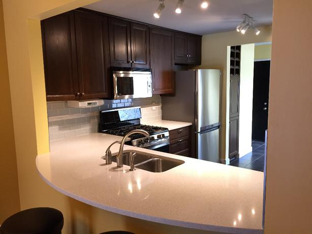 ikea kitchen cabinets quartz countertop - Regina Kitchen Cabinets