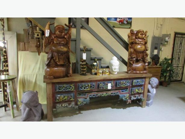 Solid wood furniture   also new Harvest tables and bench  and chairs