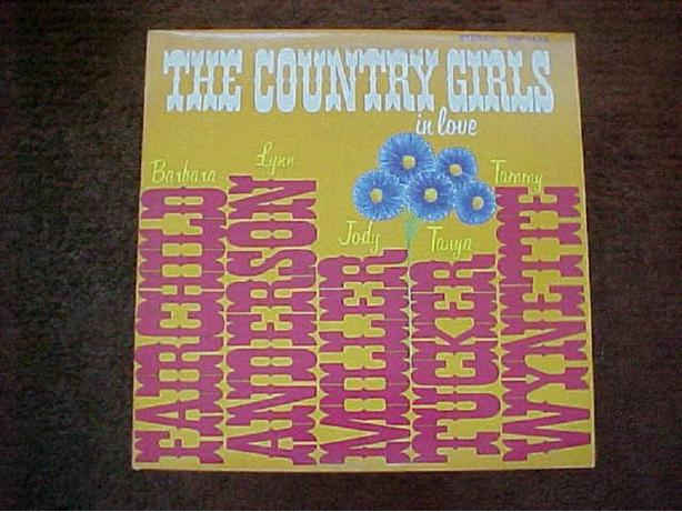 COUNTRY GIRLS IN LOVE VINYL LP