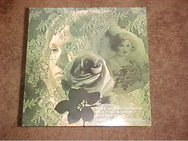 TANYA TUCKER DELTA DAWN VINYL LP