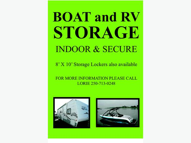 Boat and rv storage plus storage lockers