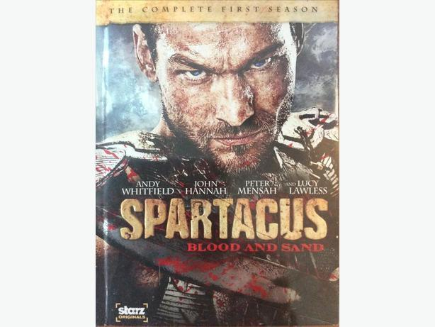 Spartacus: Blood and Sand DVD box set