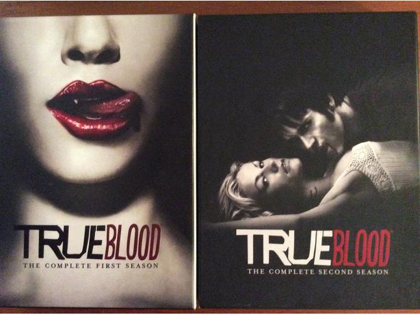 True Blood DVD box sets - Seasons 1, 2, 3
