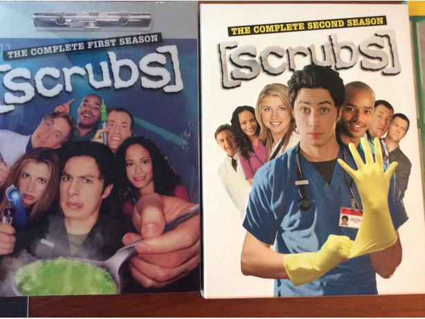 Scrubs DVD box set - Seasons 1, 2, 3, 4, 6