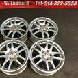 JDM ACURA RSX DC5 TYPE-R SILVER MAGS ONLY 5X114.3 17INCH JDM TOKYO MOTORS