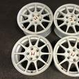JDM HONDA ACURA INETGRA DC2 WHITE MAGS ONLY 5X114.3 16INCH