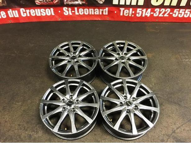 JDM EXCEEDER MAGS ONLY 5X114.3 16X6.5 +48 CIVIC INTEGRA