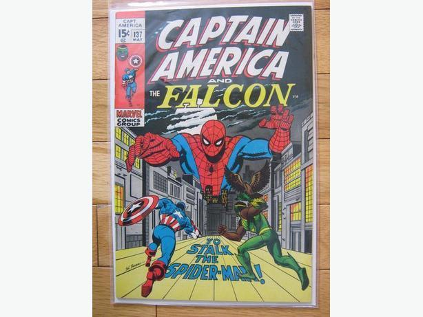Captain America and The Falcon #137 - Marvel Comics