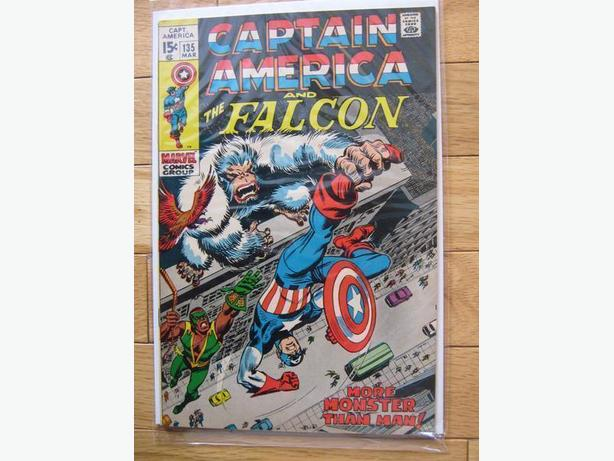 Captain America and The Falcon #135 - Marvel Comics