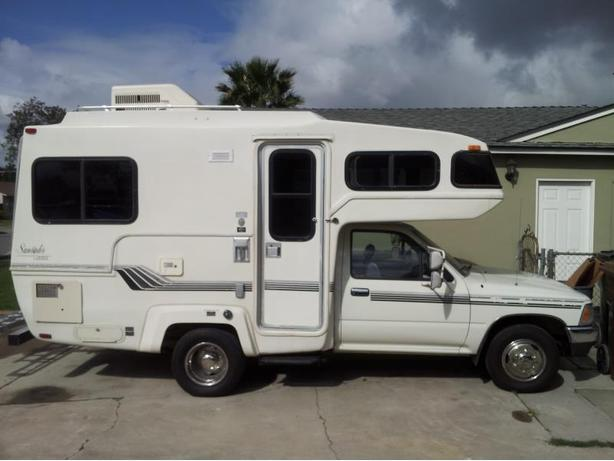 Toyota Sunrader Motorhome RV Wanted