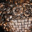 "Vintage 1977 Huge 20"" Diameter Coppercraft Wall Plaque"