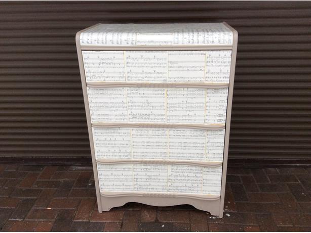 Music Inspired Dresser