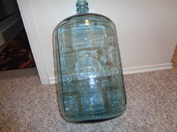 Vintage BLUE GLASS 5 Gallon *SPARKLETS* Carboy Water ...