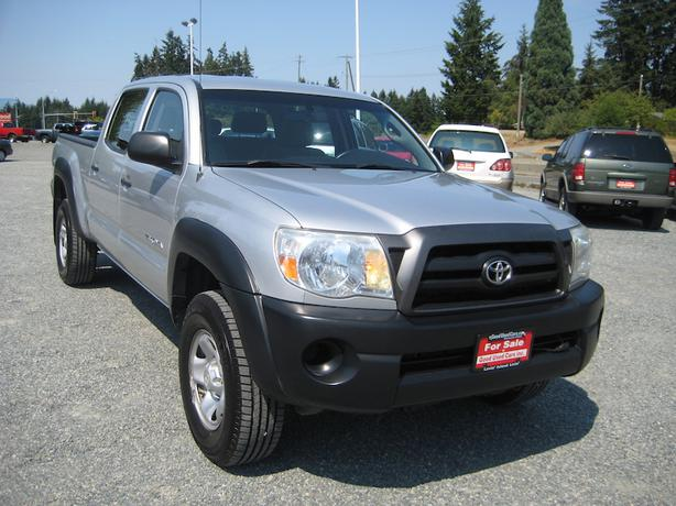 2007 toyota tacoma double cab 4x4 local with no accidents outside victoria victoria. Black Bedroom Furniture Sets. Home Design Ideas