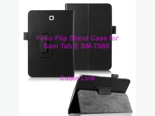 New Folio Flip Stand Case for Samsung Tab E 9.7 Inch SM-T560