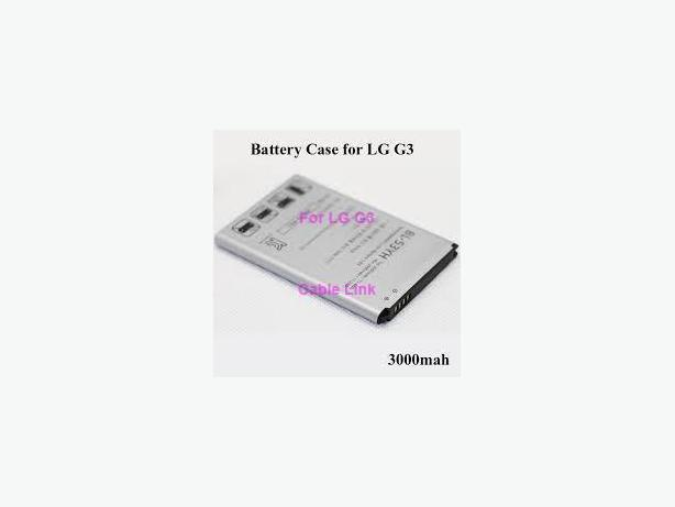 Rechargeable Li-ION 3000 mAh battery capacity for LG G3