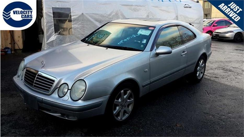 1997 mercedes benz clk class clk320 83k 39 s coupe leather for Mercedes benz roadside assistance free