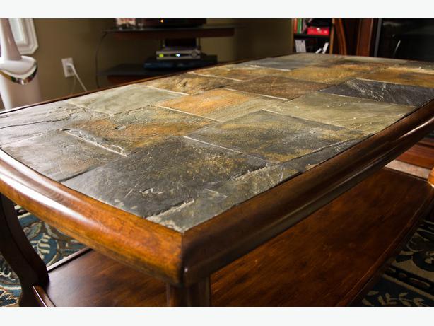 ashley slate coffee table | idi design