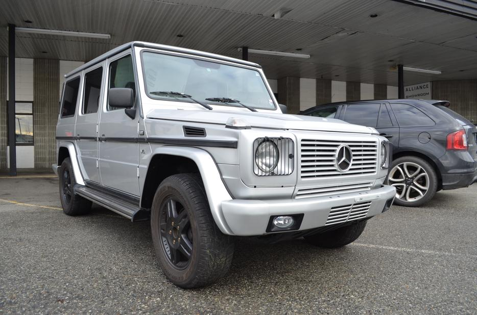 1999 Mercedes Benz G Class G500 118000 Km Only Clean No