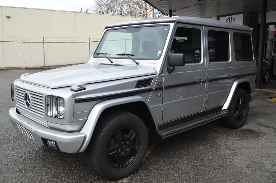 1999 mercedes benz g class g500 118000 km only clean no for Mercedes benz g500 used