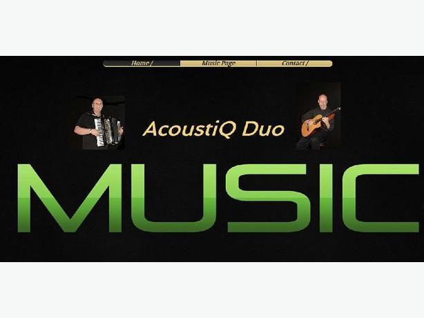 ACOUSTIQ DUO- GREAT MUSIC FOR ANY OCCASION