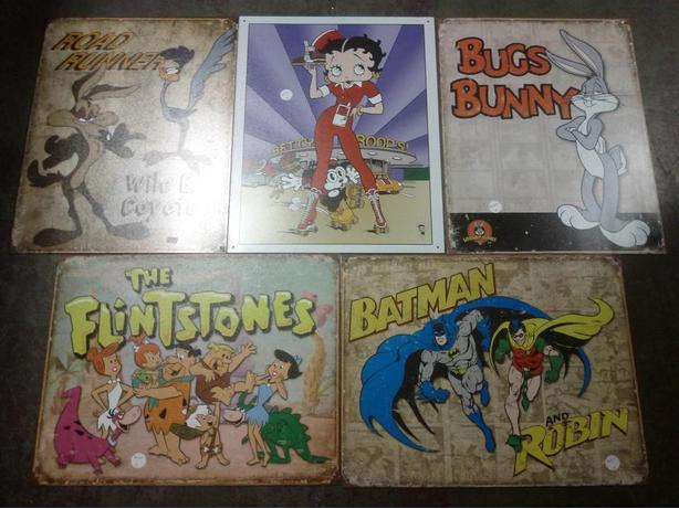 Collectable Tin signs