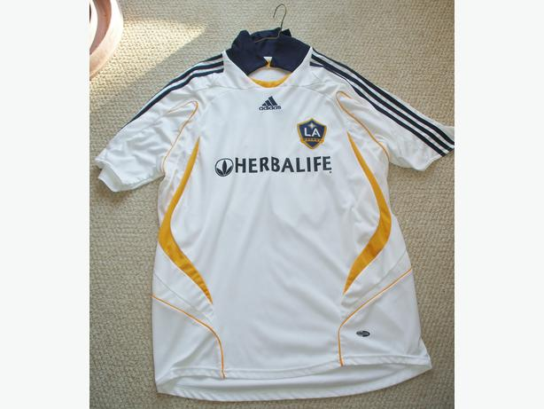 Jersey,Soccer by Adidas- sz. XL adult- Beckham-$15.