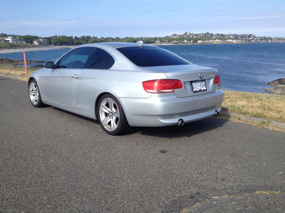 2007 335 i twin turbo bmw coupe silver 99km firm priced to sell central saanich victoria mobile. Black Bedroom Furniture Sets. Home Design Ideas
