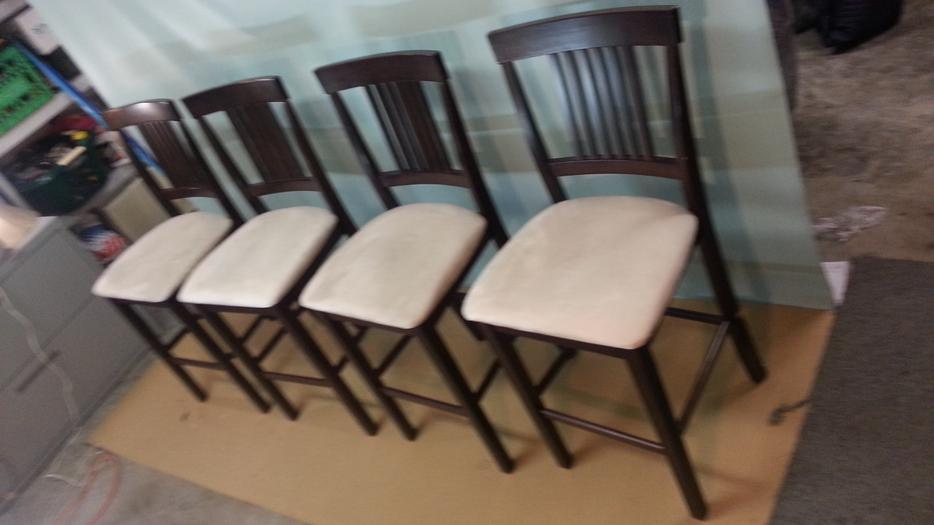Ikea Lerhamn Table And 4 Chairs Black Brown Vittaryd