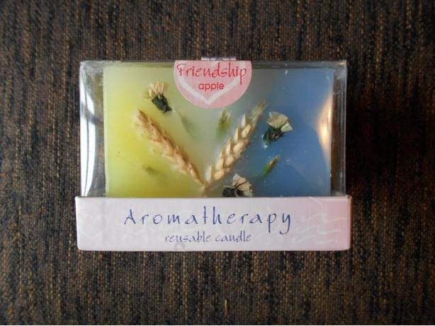 Handcrafted 45-55 hour Aromatherapy Reusable Candle NEW in Box!!!