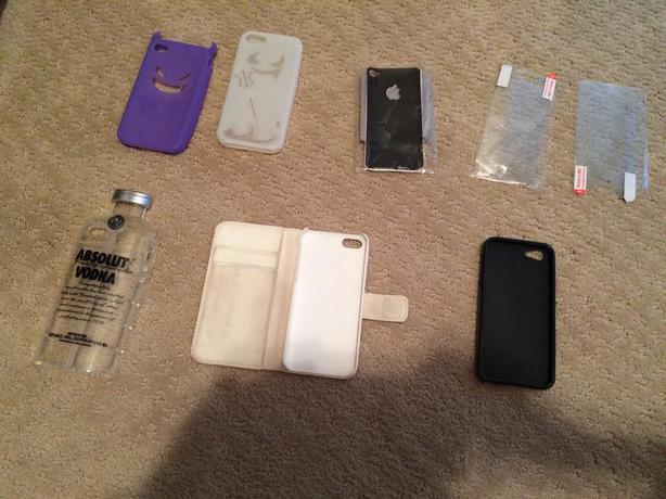 iPhone cases and protectors