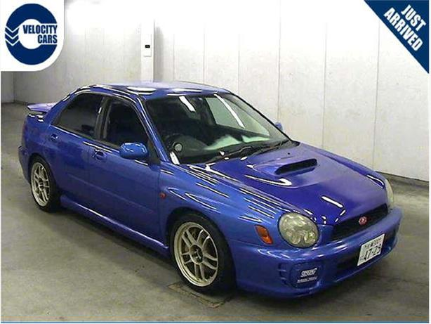 2000 subaru impreza wrx sti bugeye outside kamloops thompson. Black Bedroom Furniture Sets. Home Design Ideas