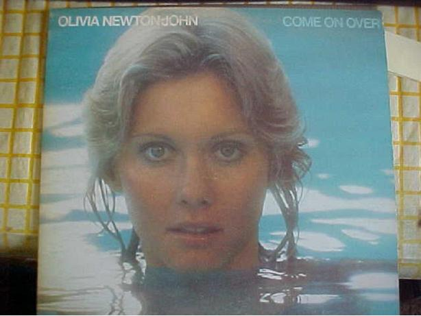 OLIVIA NEWTON-JOHN COME ON OVER VINYL LP