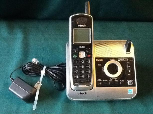 VTECH 5.8 Cordless Phone and Digital Voicemail
