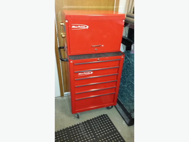 blue point rolling tool box and stackable chest sold by snap on west shore langford colwood. Black Bedroom Furniture Sets. Home Design Ideas