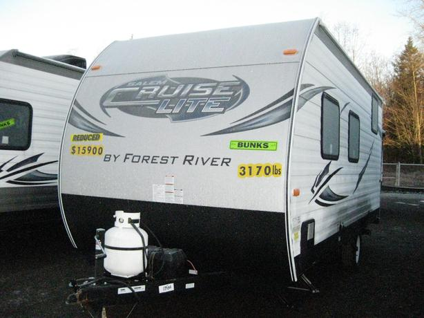 2016 Forest River Salem 175bh Clfs Bunks Travel Trailer