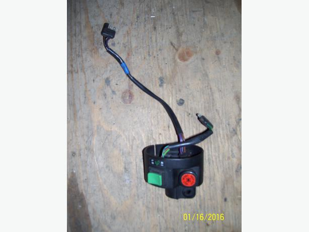 Arctic Cat ZR500 ZR600 control switch throttle switch