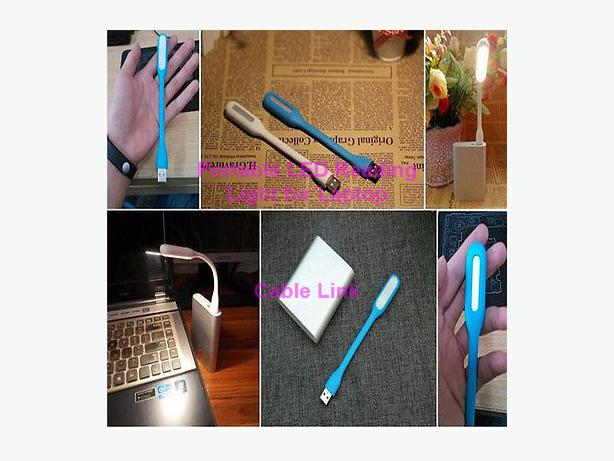 Flexible Portable USB LED Night Reading Light for Laptop Tablet