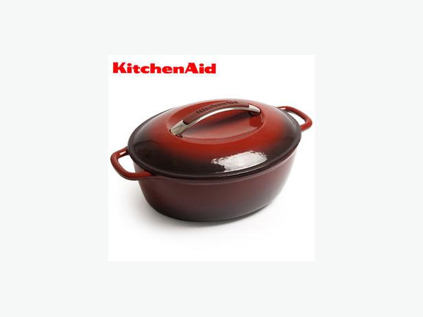 KitchenAid Cast Iron Oval Dutch Oven